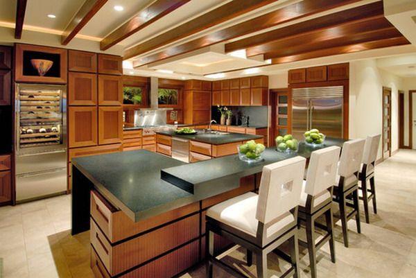 Modern Custom Tropical Kitchen Furniture | FS New Boards Kitchen ...