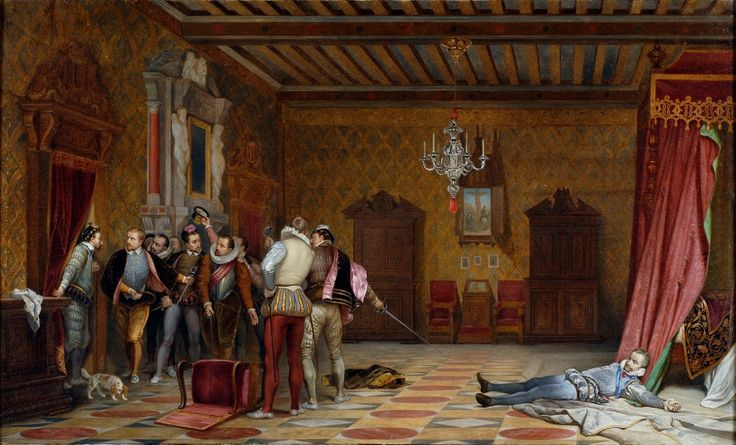 Paul delaroche assassinat du duc de guise 1834 coll - Salon du chiot blois ...