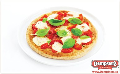 Satisfy that Pizza craving with a Dempster's pita pizza. Add lots of veggies and light cheese to stay on track!