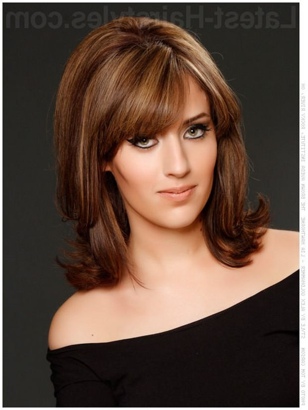 cute med length haircuts best 25 middle length hairstyles ideas on 4773 | 4938e94e51204de2814411301613ba30 medium style haircuts hairstyles medium