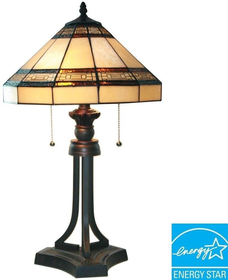 11 best lamp shades images on pinterest lamp shades lampshades table lamp 2 cfl bulbs oil rubbed bronze tiffany style stained hand cut glass mozeypictures Images