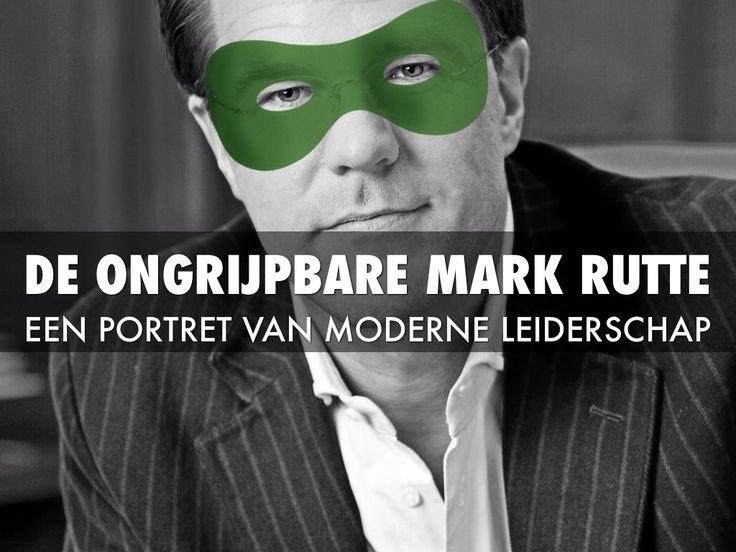 Mark Rutte, een goed voorbeeld van een leider met een verhoogde emotionele intelligentie