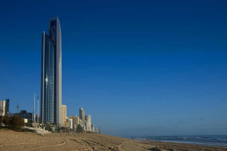 Soul: The world's most iconic beachfront residences at Surfers Paradise, Australia.  #SurfersParadise #SoulAustralia #Skyscraper #Beach