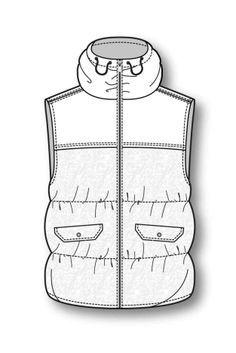「garment piping technical drawing」的圖片搜尋結果