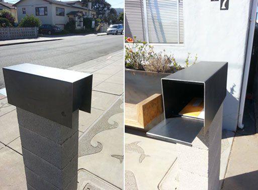 Modern Steel Mailbox                                                                                                                                                      More