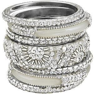 ZsaZsa Bellagio  <3<3: Sparkly Bangles, Wedding Band, Silver Bangles, Jewelry, Sparkle, Beautiful Bangles, Diamond Bangle, Bling Bling