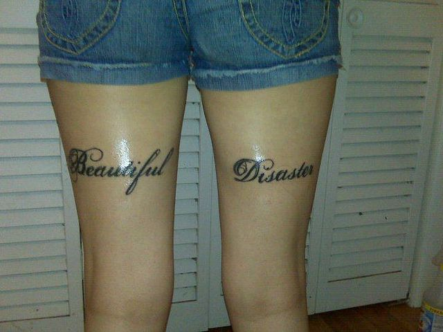 Back of thigh leg tattoos pictures to pin on pinterest for Tattoos on back of thighs