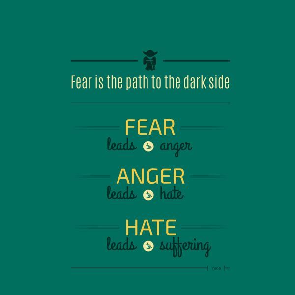Citation de Yoda Navdeep Raj | Geek Inspiration(s) | Pinterest