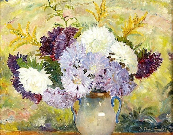 ANDER, Ture (1881-1959)- Flower Still-Life