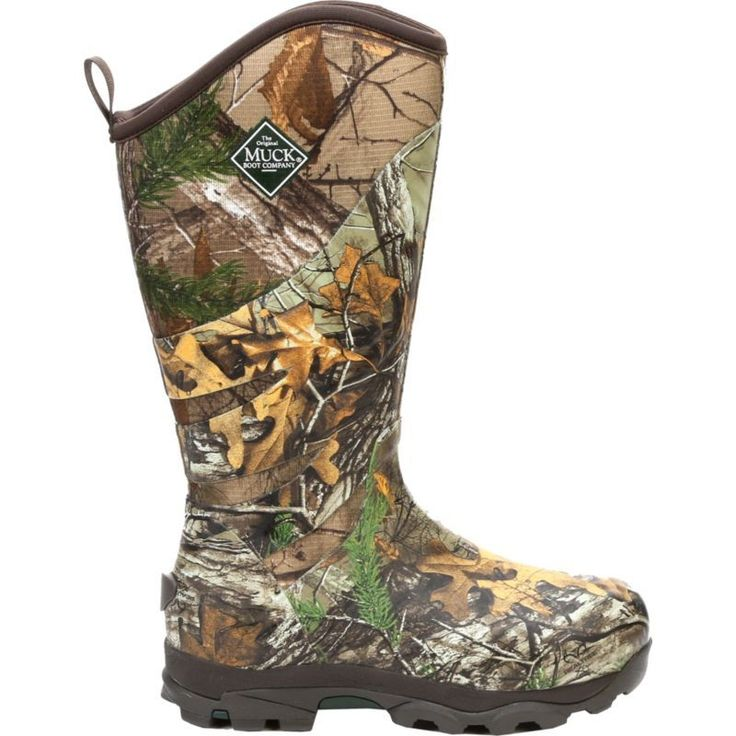 Muck Boots Men's Pursuit Glory Insulated Waterproof Rubber Hunting Boots, Brown #MuckBoots