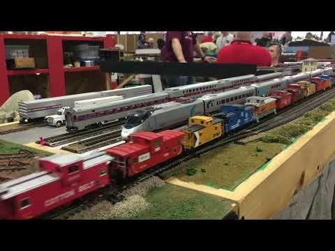 The New England Model Train Expo 2018 (Marlborough Train Show