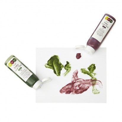 veggie finger paint
