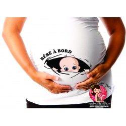 chandail de maternité TROU BÉBÉ