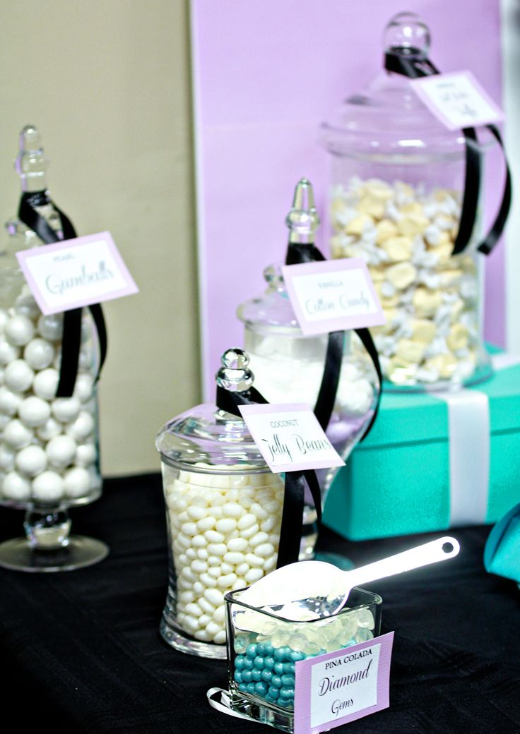 tiffany themed candy buffet tiffany blue candy buffet lavender lavender baby showersblue