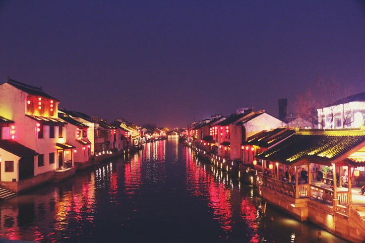 Canal Street: Wuxi, China. #explore #adventure #china #wuxi