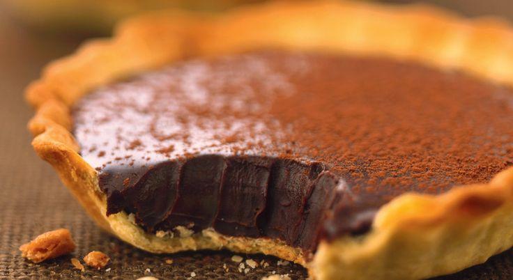 Recette de #tartelette au #chocolat croquant