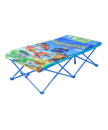 This PAW Patrol Folding Slumber Bed is perfect! #zulilyfinds