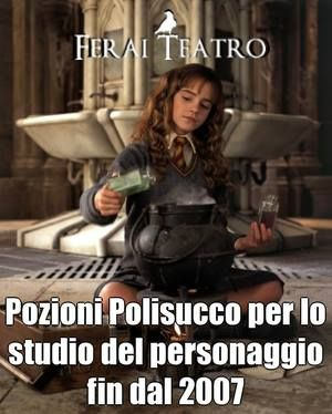 Hermion Granger polyjuice potion at #FeraiTeatro