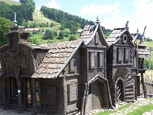 HABAKUKY  Rozprávková dedinka. Fairyland, Donovaly