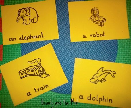 Beauty and the Mist - everything about beauty: DIY: Flashcards For Toddlers