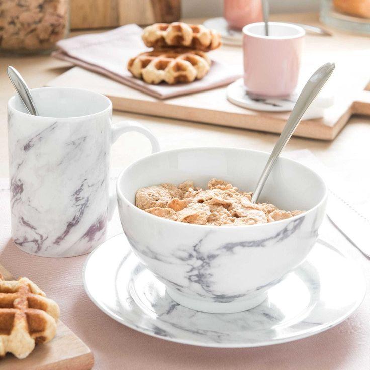 MARBRE china bowl   Maisons du Monde