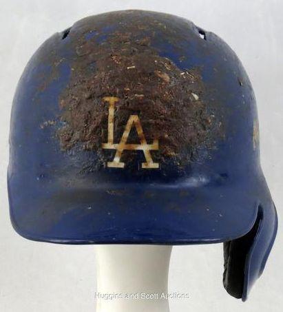 Dodgers Blue Heaven: Hanley's Disgusting 2013 Batting Helmet is on Auction