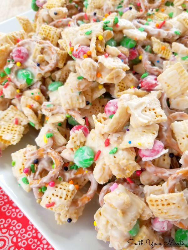 Sweet Chex Mix Recipe With M&M'S