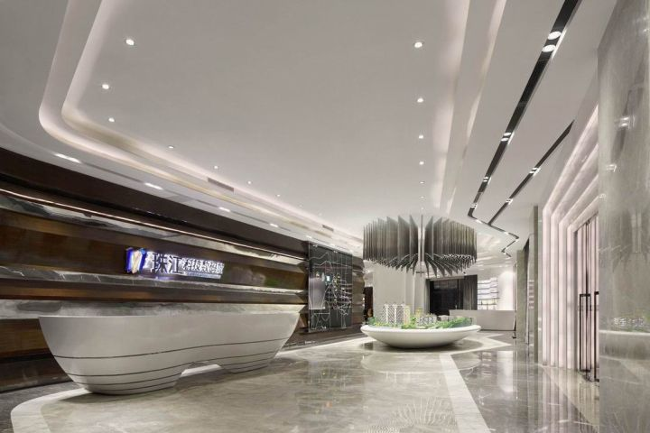 Pearl River Science and Technology Digital City Sales Center by C&C DESIGN CO., ... 2