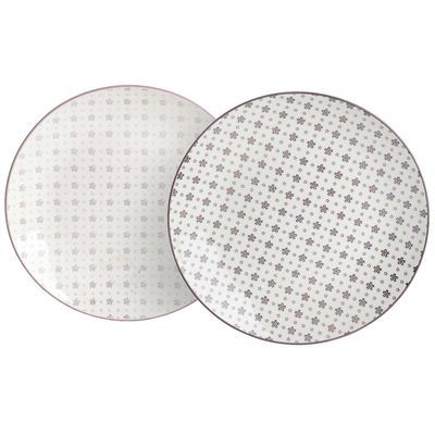 Breakfast plate, D: 20.5cm, lilac light or dark (color nuance not freely selectable)