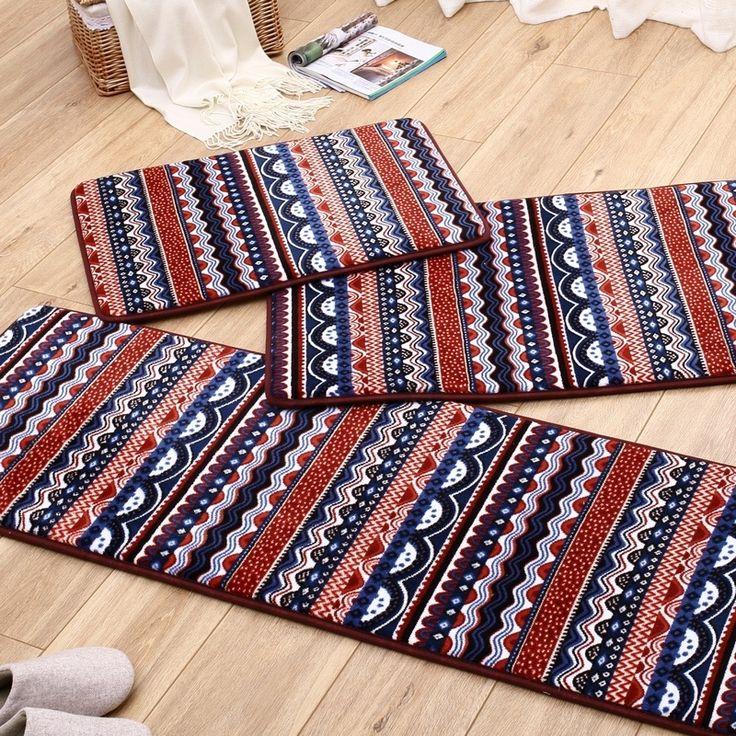 Bohemian Slow Rebound Floor Mat Soft Door Mat Bathroom Absorbent Mat Living  Room Rug Part 68