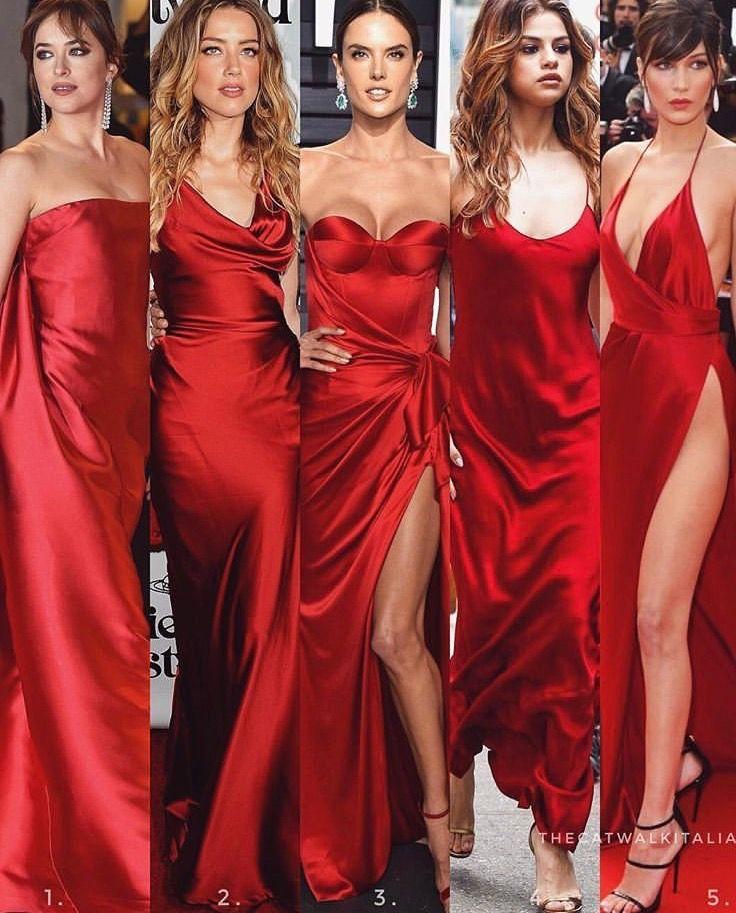 """S-L Red /""""GiGi/"""" Maxi Dress"""