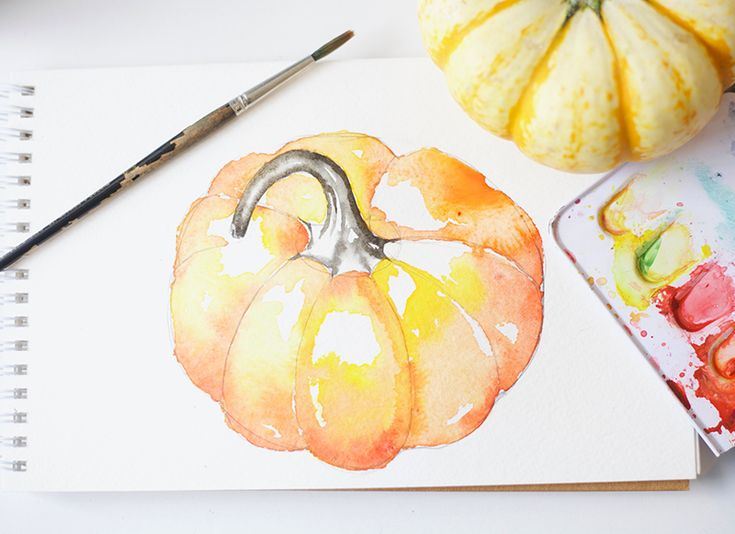 Here is a beginner watercolor tutorial for painting pumpkins. Some people associate watercolor painting with the butterflies and flowers of spring and summer but I love to paint in autumn. You can …