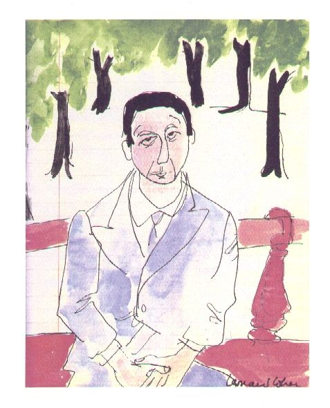 Self Portrait by Leonard Cohen