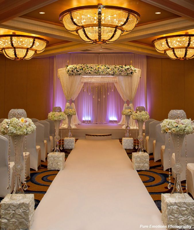 The Ceremony Decor: 186 Best Images About Indoor Wedding Ceremony On Pinterest