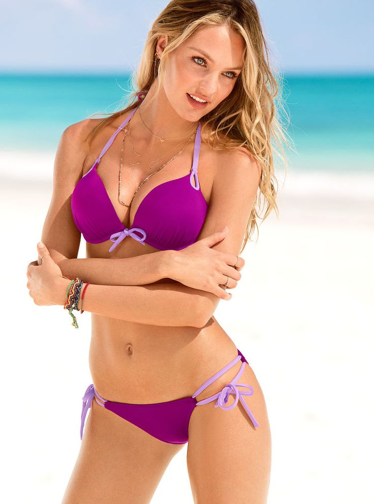 Bikini in purple due time