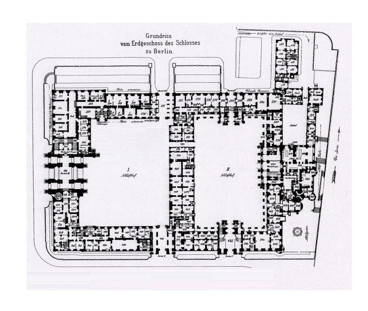 Royal Palace Berlin 1933 Ground Floor Plan Floor