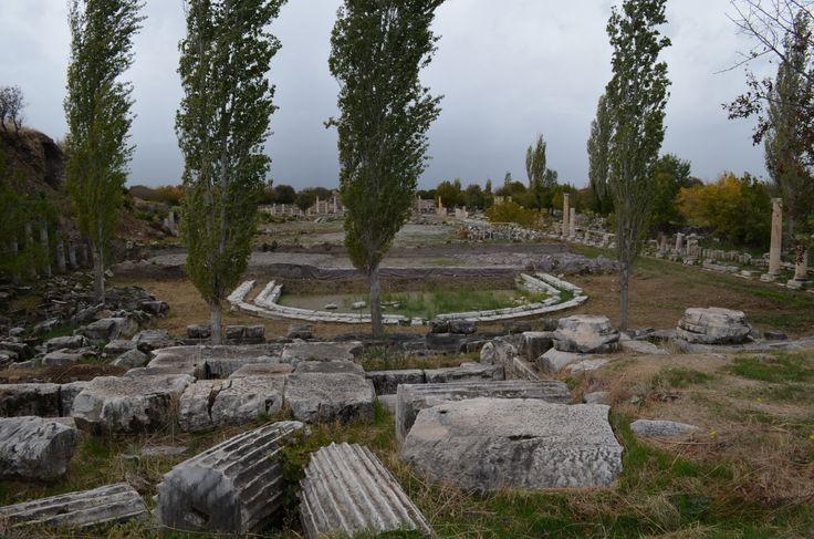 Aphrodisias, the agora