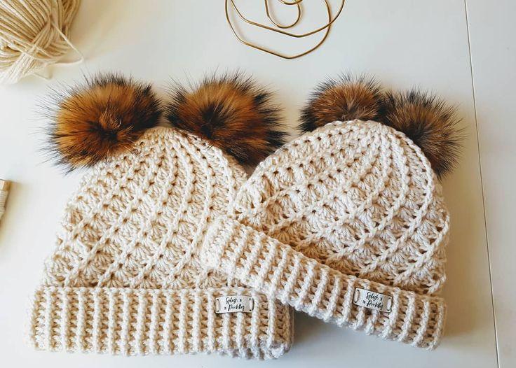280 best gorros crochet images on Pinterest | Crochet hats, Crochet ...