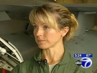 Major Heather Penney, one of two F 16 fighter pilots first ordered in the air from the D.C. Air National Guard on 9/11 to intercept Flight 93. Neither Penney or Colonel Marc Sasseville had enough fire power on board to take down the plane so they decided on a plan - he was going to ram the cockpit and she the tail in what would have been a karmikaze mission. In the end, Flight 93 never reached Washington, as passengers assaulted the hijackers and the plane crashed in Pennsylvania.
