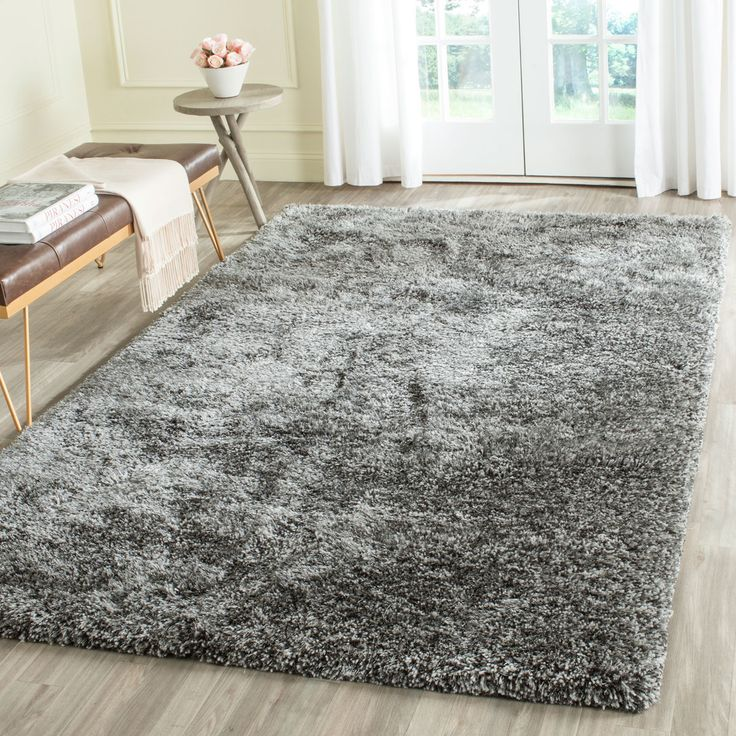Shag Collection SBS562H Color Steel Grey rug