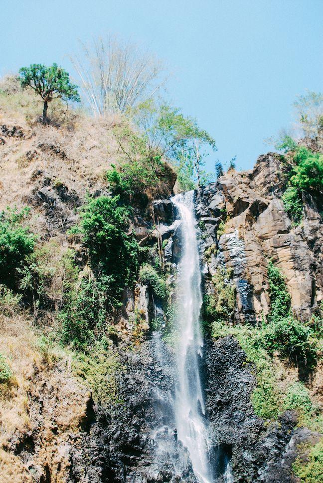 Visiting the Takapala Waterfall in Malino
