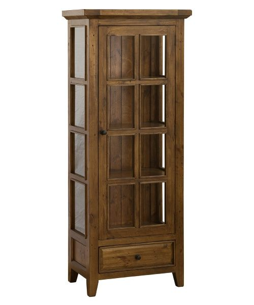 Hillsdale Tuscan Retreat Small Curio Cabinet - Curio Cabinets at Hayneedle