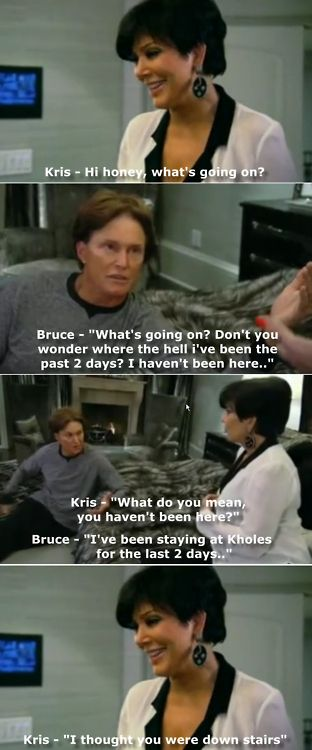 If you are a fan of Keeping Up With The Kardashians, you MUST read these! I love Bruce!