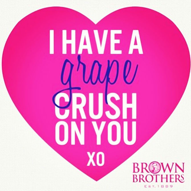 Brown Brothers Valentine's Day