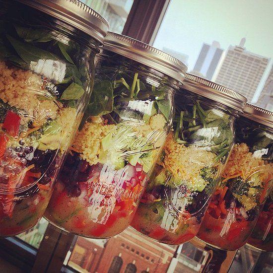 25 Salads in a Jar That Make Brown Bagging at Work Fun