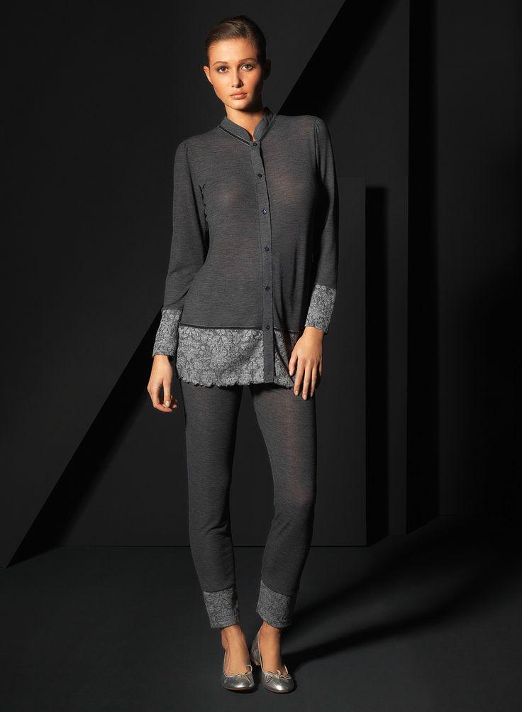 Pigiami e camicie da notte per l'inverno 2015 - Fotogallery Donnaclick