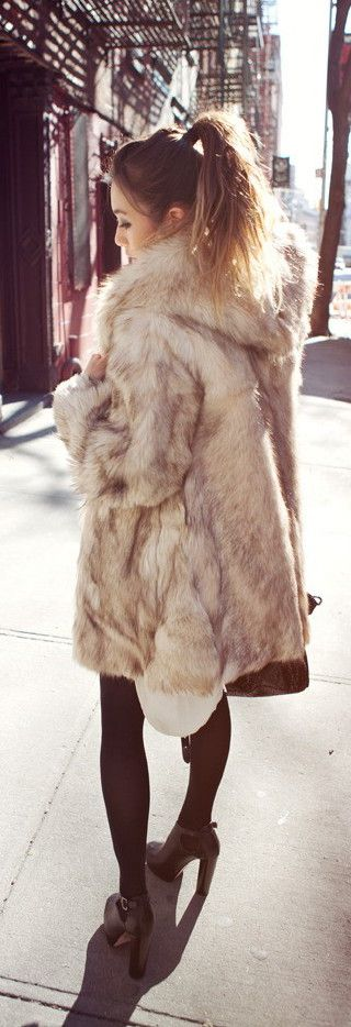 #street #fashion fall fur @wachabuy