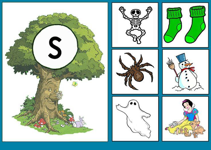 * Sprookjesboom: Letterkaart S