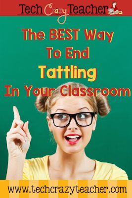 stopping tattling among your students