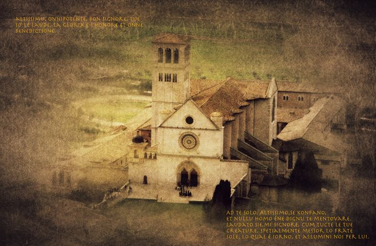 Assisi, church of S. Francesco by Vittorio Chiampan